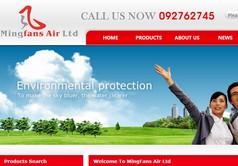 Mingfans Motor Ltd外贸网站
